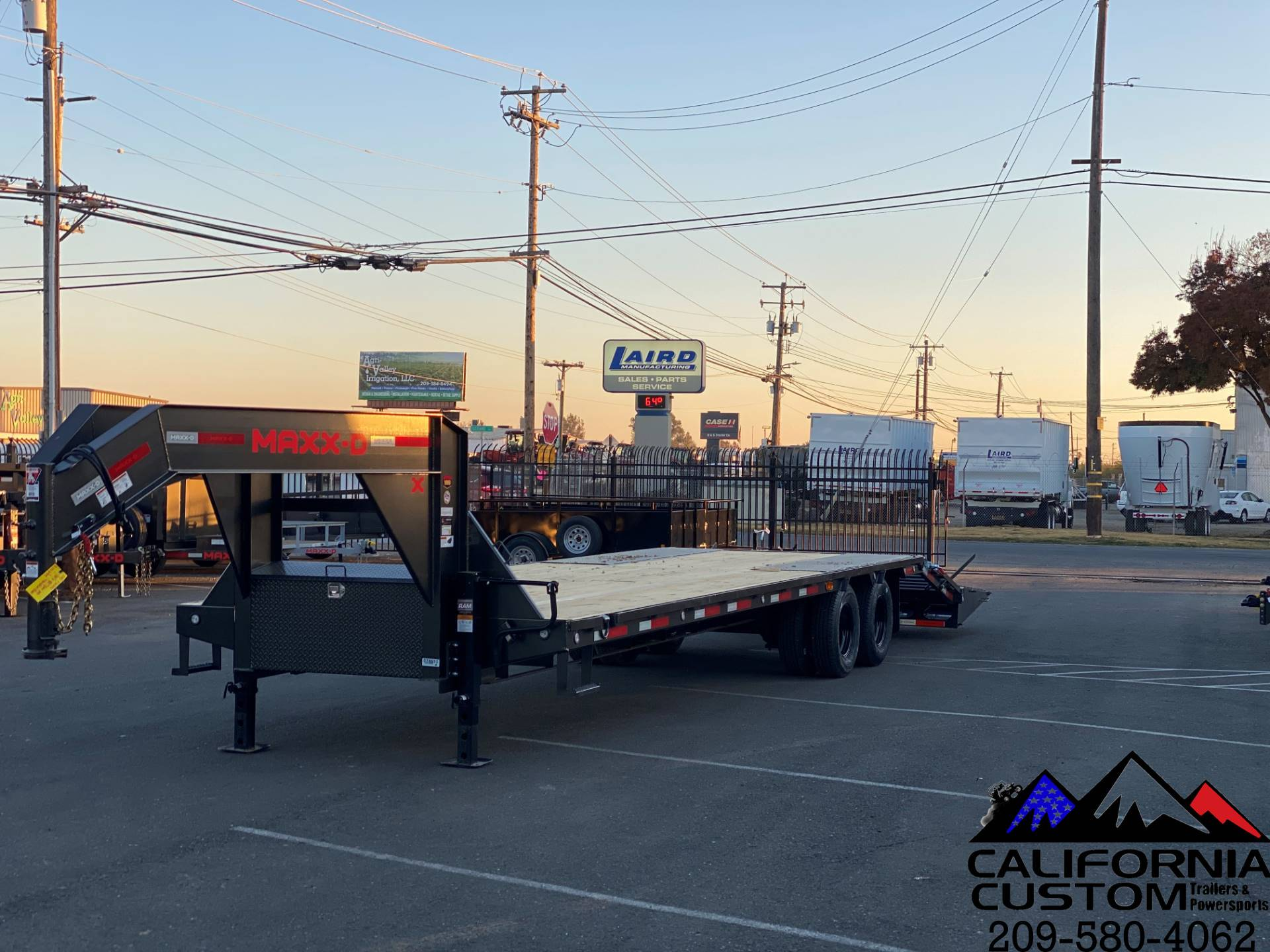 "2021 MAXEY TRAILERS 30' X 102"" - LOW-PRO TANDEM DUAL FL in Merced, California - Photo 1"