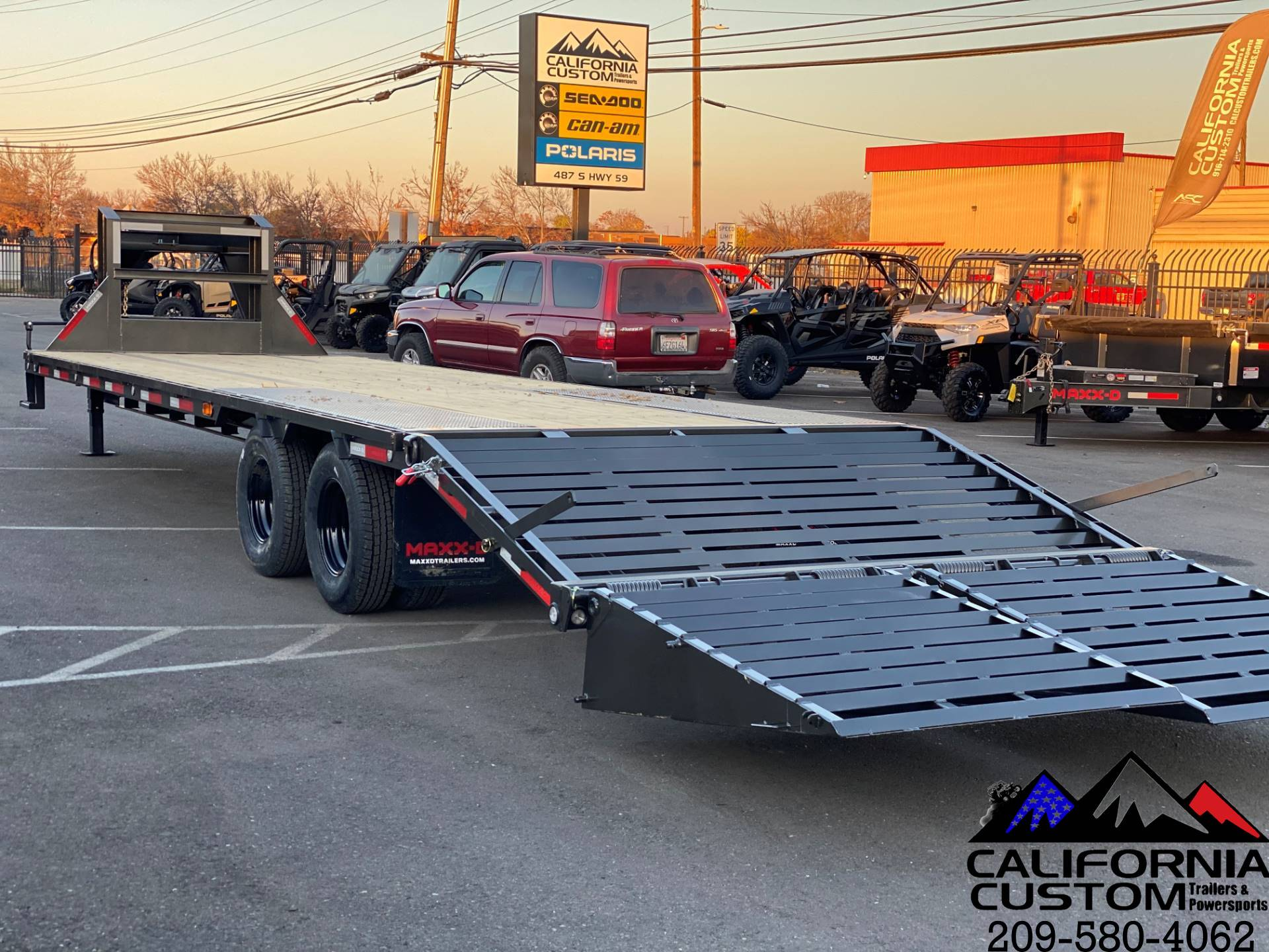 "2021 MAXEY TRAILERS 30' X 102"" - LOW-PRO TANDEM DUAL FL in Merced, California - Photo 3"