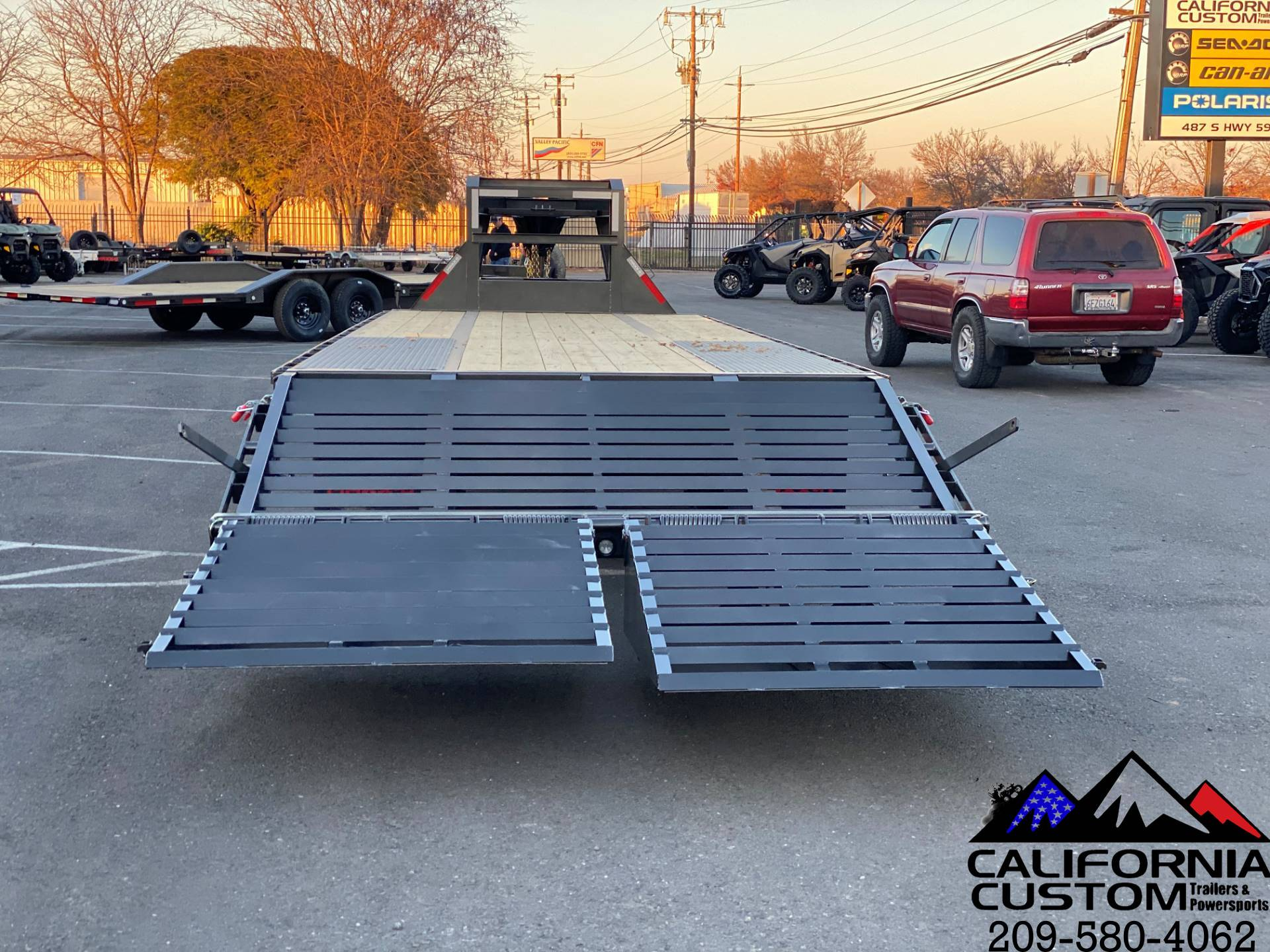 "2021 MAXEY TRAILERS 30' X 102"" - LOW-PRO TANDEM DUAL FL in Merced, California - Photo 4"