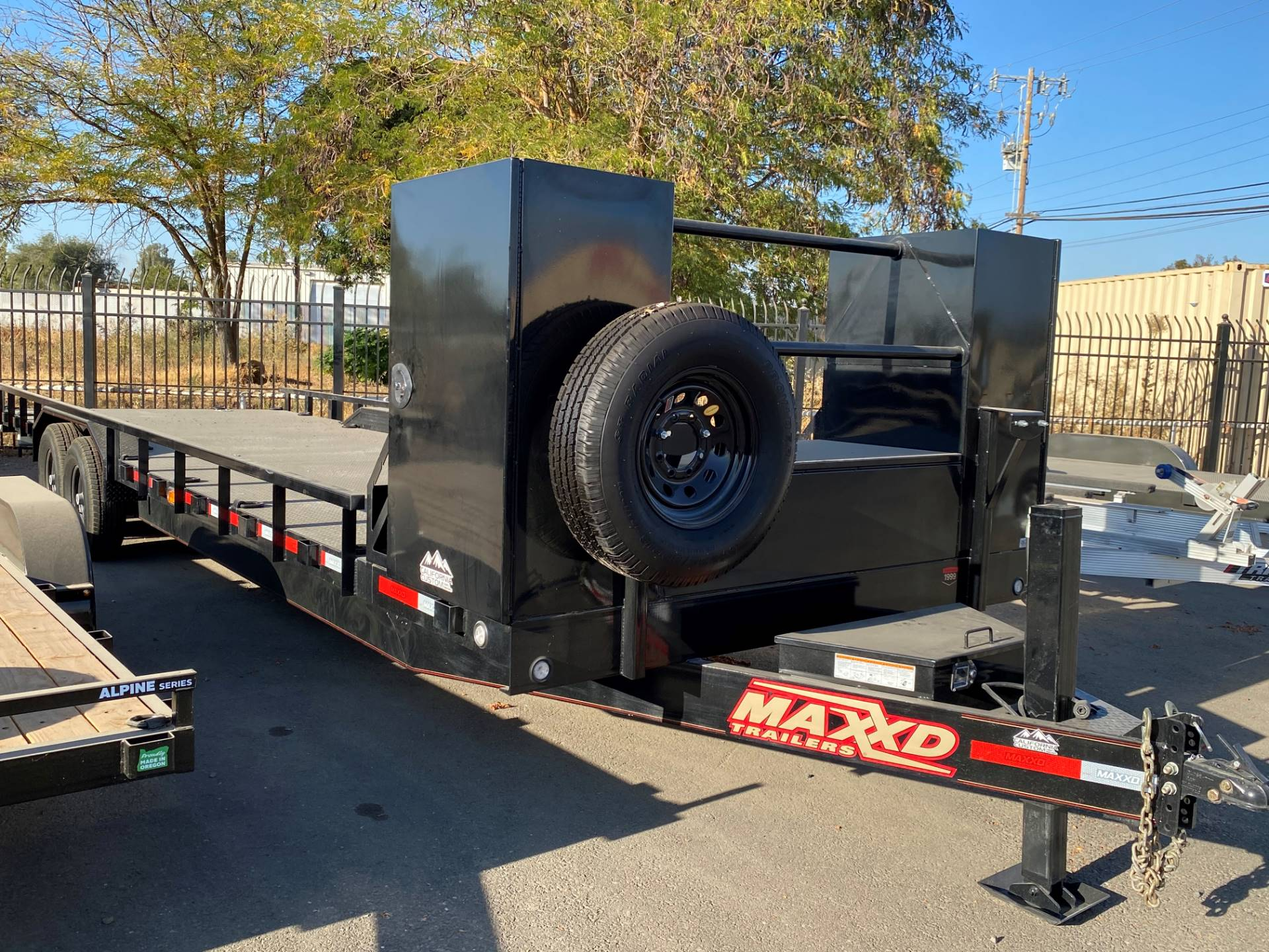 "2020 MAXEY TRAILERS 28' X 102"" 8"" CHANNEL BUGGY HAULER in Merced, California - Photo 3"