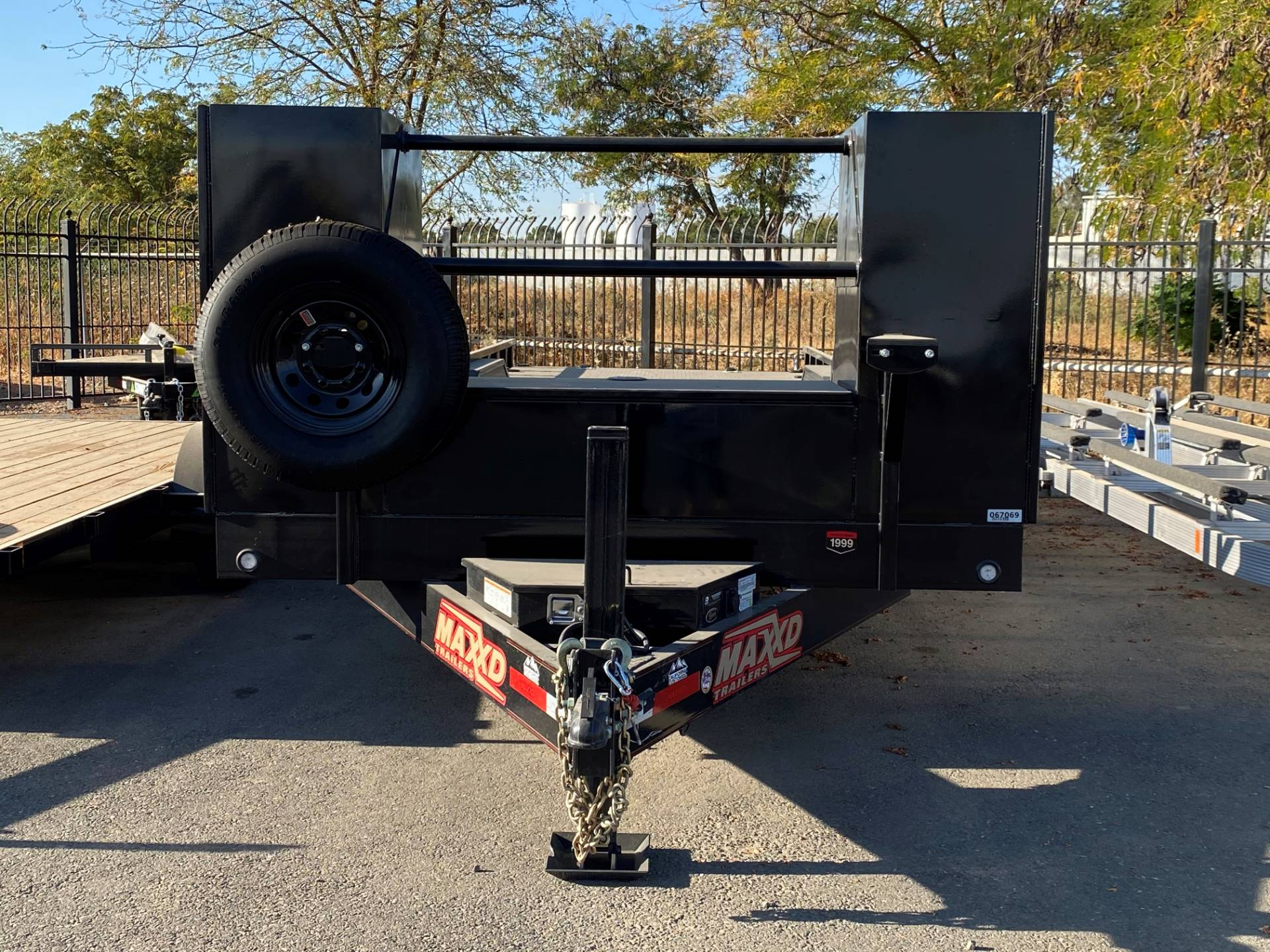 "2020 MAXEY TRAILERS 28' X 102"" 8"" CHANNEL BUGGY HAULER in Merced, California - Photo 4"