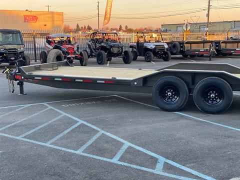 "2021 MAXEY TRAILERS 24' X 102"" - 14K CHANNEL POWER TILT in Merced, California - Photo 2"