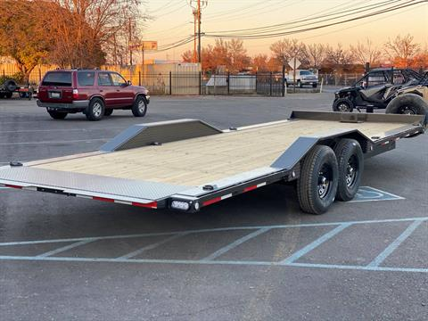 "2021 MAXEY TRAILERS 24' X 102"" - 14K CHANNEL POWER TILT in Merced, California - Photo 4"