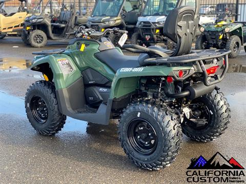 2021 Can-Am Outlander MAX DPS 570 in Merced, California - Photo 3