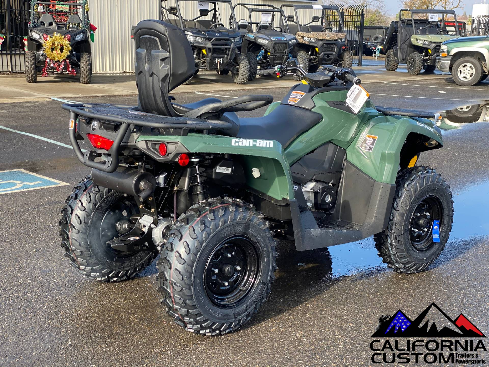 2021 Can-Am Outlander MAX DPS 570 in Merced, California - Photo 5