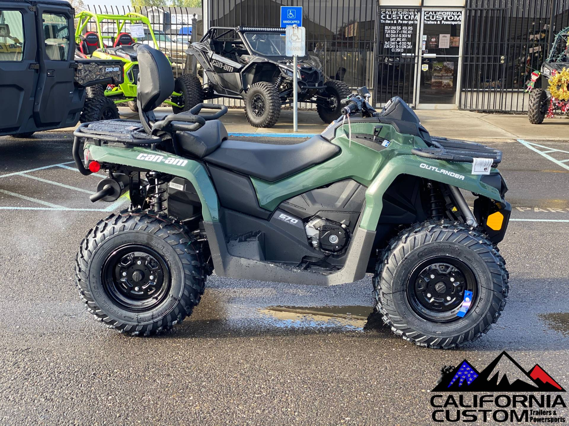 2021 Can-Am Outlander MAX DPS 570 in Merced, California - Photo 6