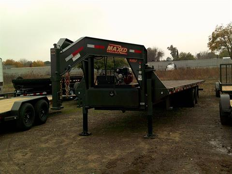 "2020 MAXEY TRAILERS 32' X 102"" FLATBED SLIDE-X TILT in Merced, California - Photo 1"