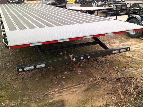 "2020 MAXEY TRAILERS 32' X 102"" FLATBED SLIDE-X TILT in Merced, California - Photo 9"