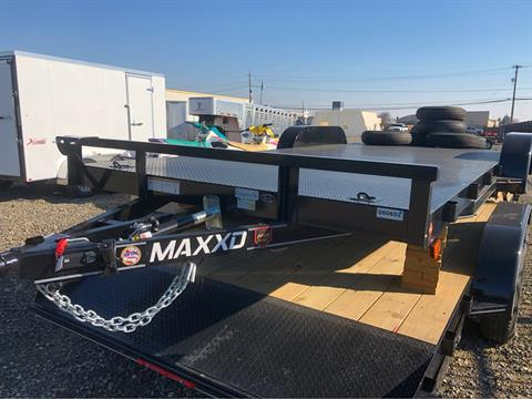 "2019 MAXEY TRAILERS 20' X 83"" CHANNEL CAR HAULER in Merced, California"
