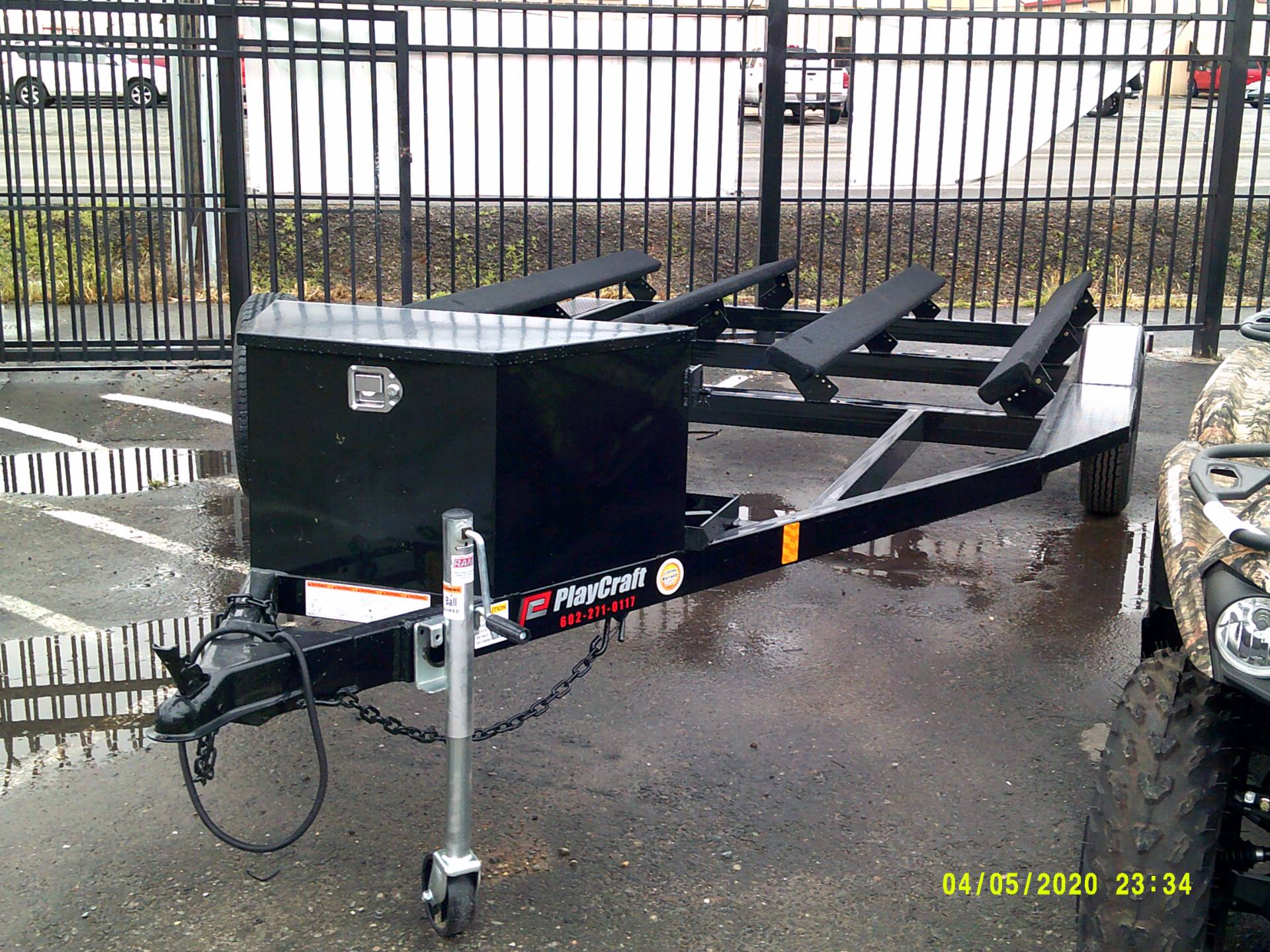 2020 PLAYCRAFT TRAILERS 2 PLACE JET SKI in Merced, California - Photo 1