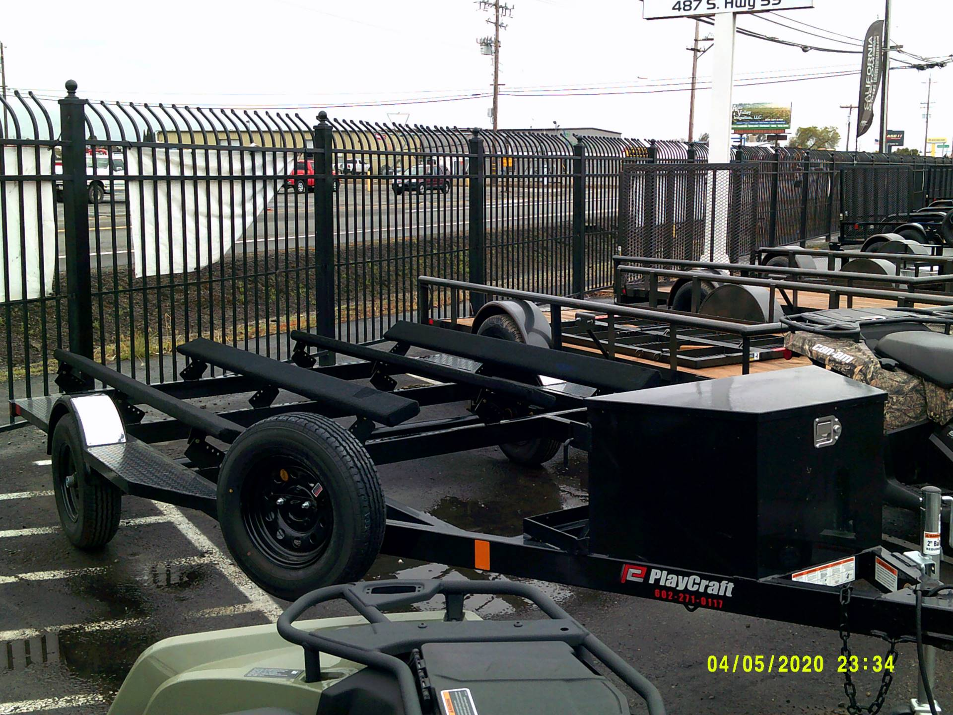 2020 PLAYCRAFT TRAILERS 2 PLACE JET SKI in Merced, California - Photo 2