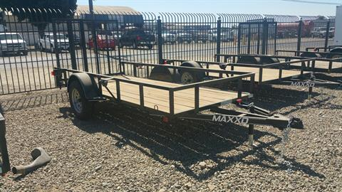 "2018 MAXEY TRAILERS 12' X 61"" SA UTILITY TRAILER in Merced, California"