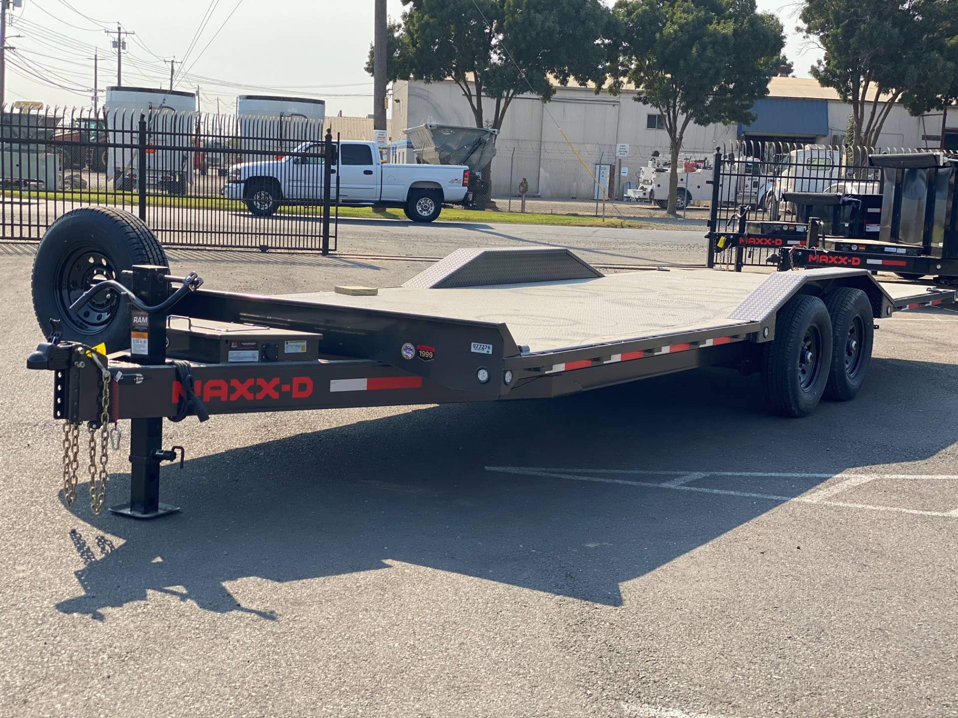 "2021 MAXEY TRAILERS 24' X 102"" - 14K CHANNEL POWER TILT in Merced, California - Photo 1"