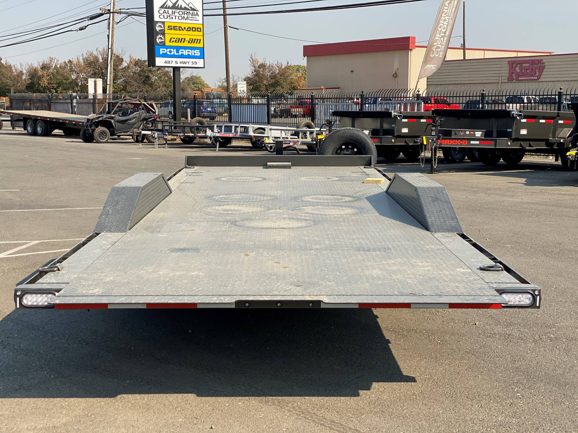 "2021 MAXEY TRAILERS 24' X 102"" - 14K CHANNEL POWER TILT in Merced, California - Photo 3"
