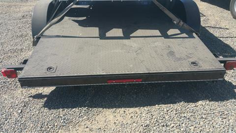 "2018 MAXEY TRAILERS 18' X 83"" CHANNEL CAR HAULER in Merced, California"