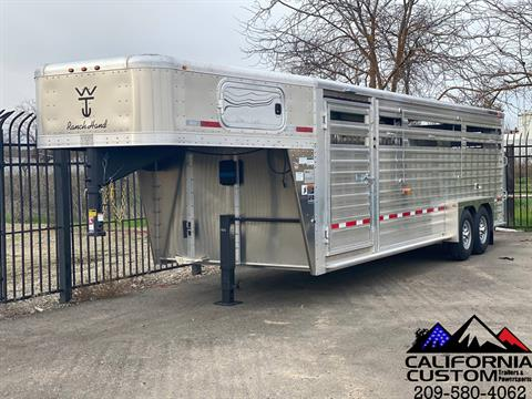 2021 WILSON 24' RANCH HAND SLAT SIDE in Merced, California - Photo 1