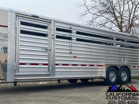 2021 WILSON 24' RANCH HAND SLAT SIDE in Merced, California - Photo 2
