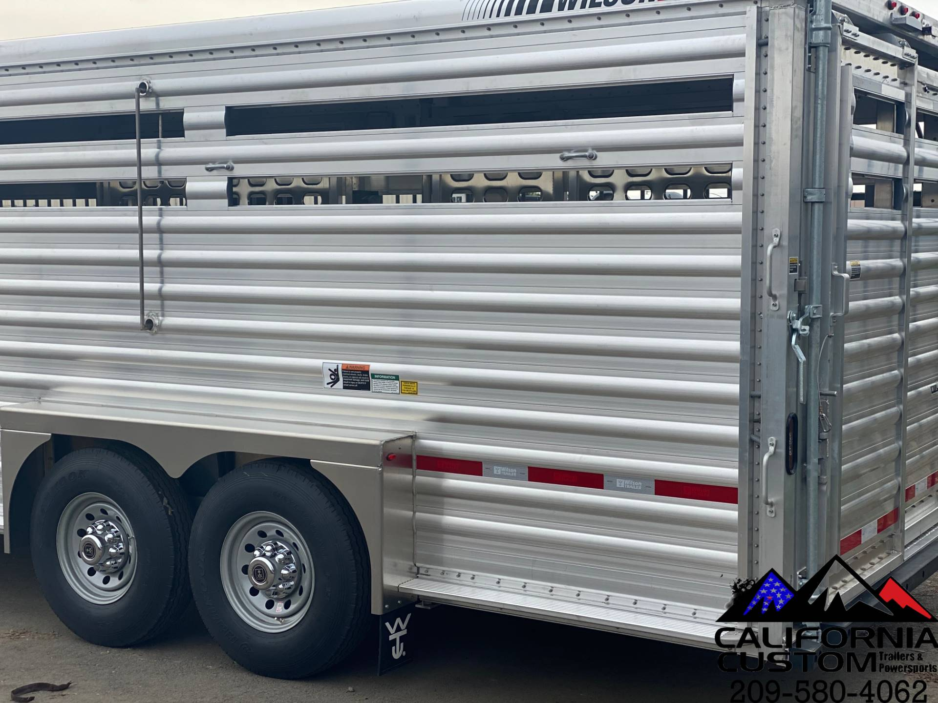 2021 WILSON 24' RANCH HAND SLAT SIDE in Merced, California - Photo 3