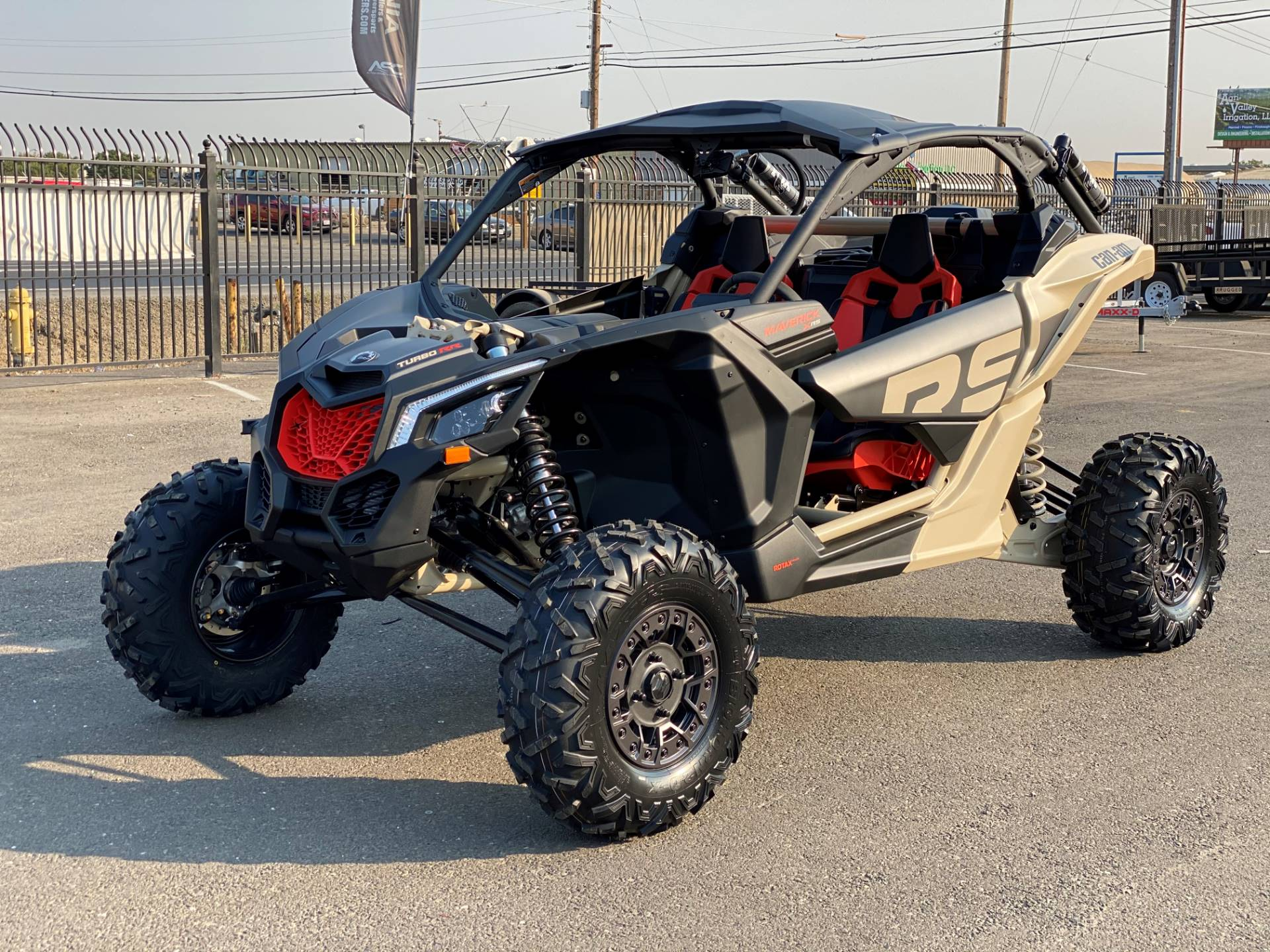 2021 Can-Am Maverick X3 X RS Turbo RR in Merced, California - Photo 1