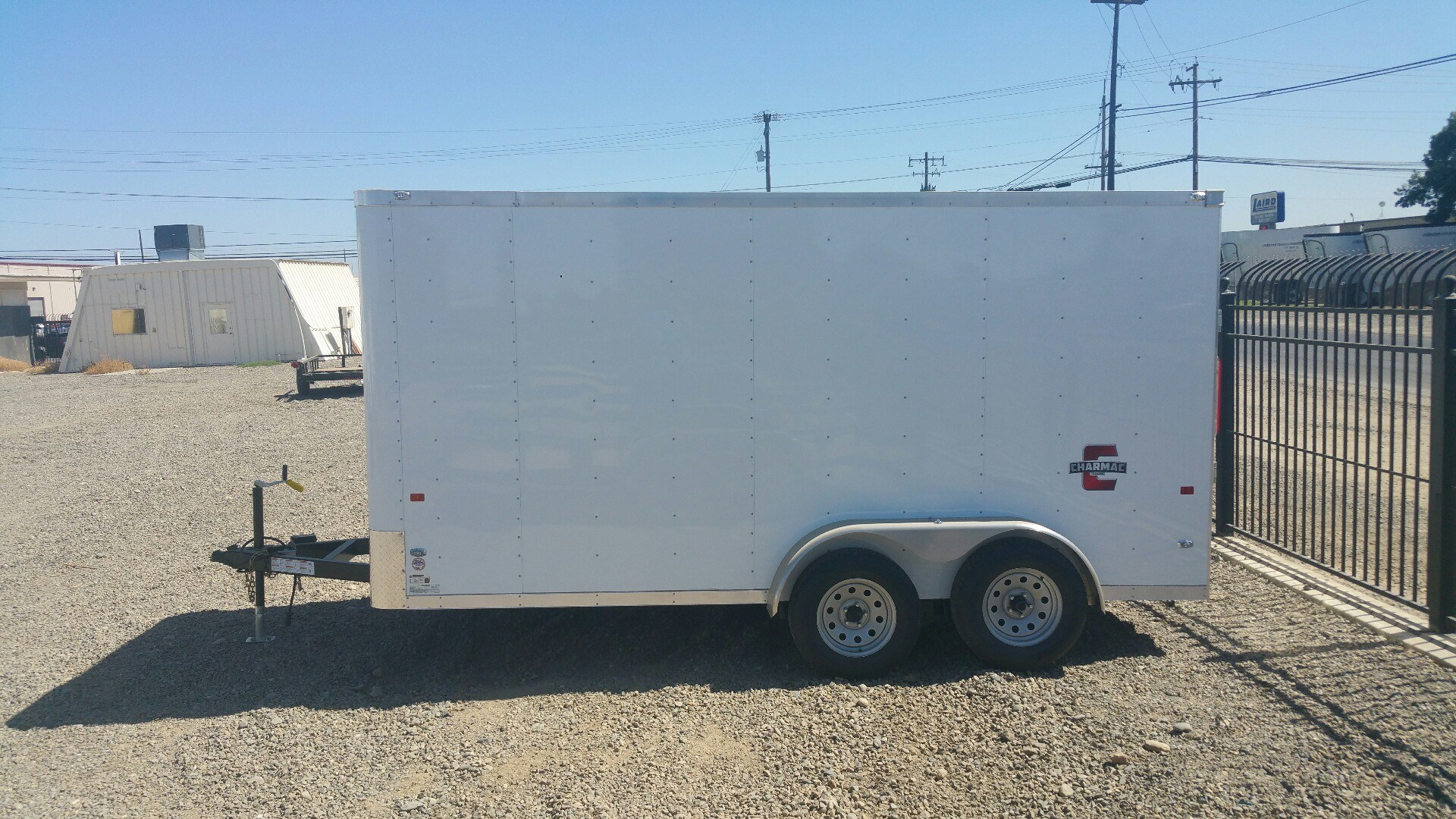 2019 Charmac Trailers 14' X 7' STEALTH CARGO in Merced, California