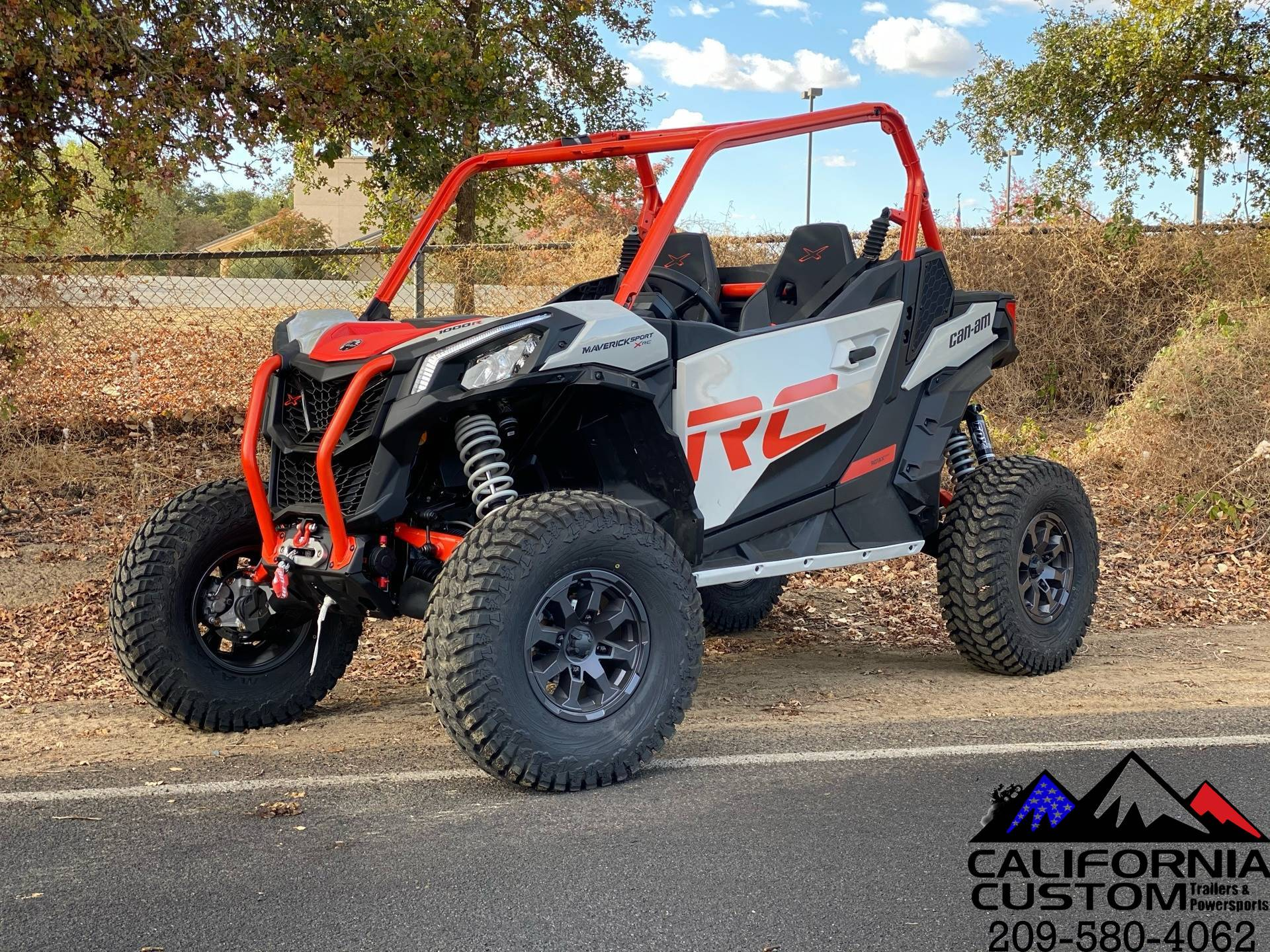 2021 Can-Am Maverick Sport X RC 1000R in Merced, California - Photo 1