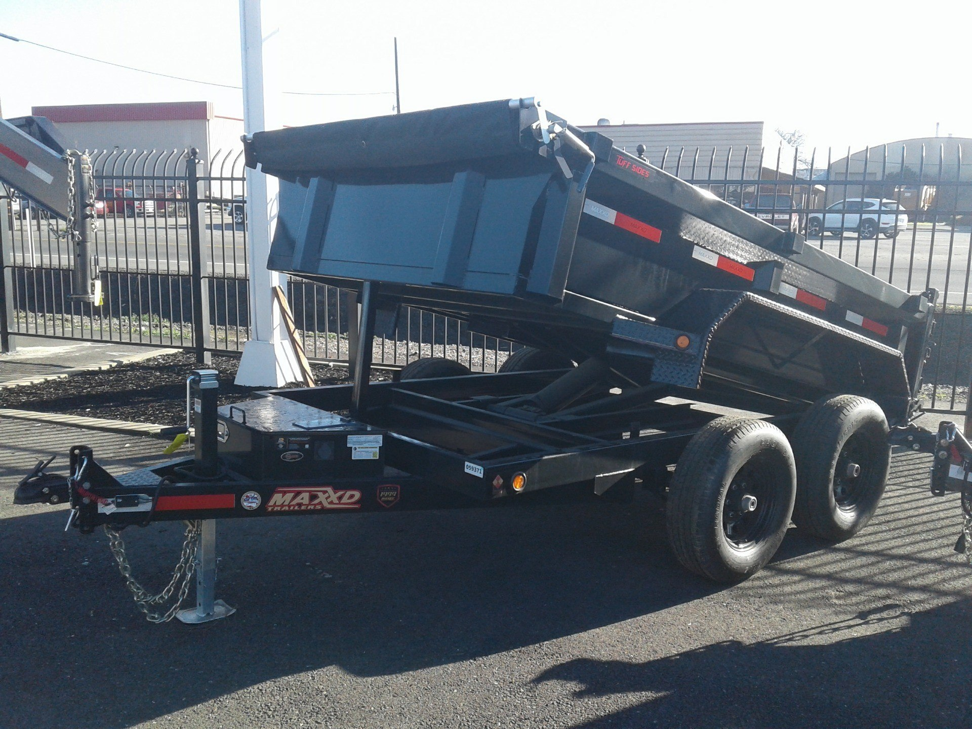 "2019 MAXEY TRAILERS 10' X 72"" DUMP TRAILER in Merced, California - Photo 2"