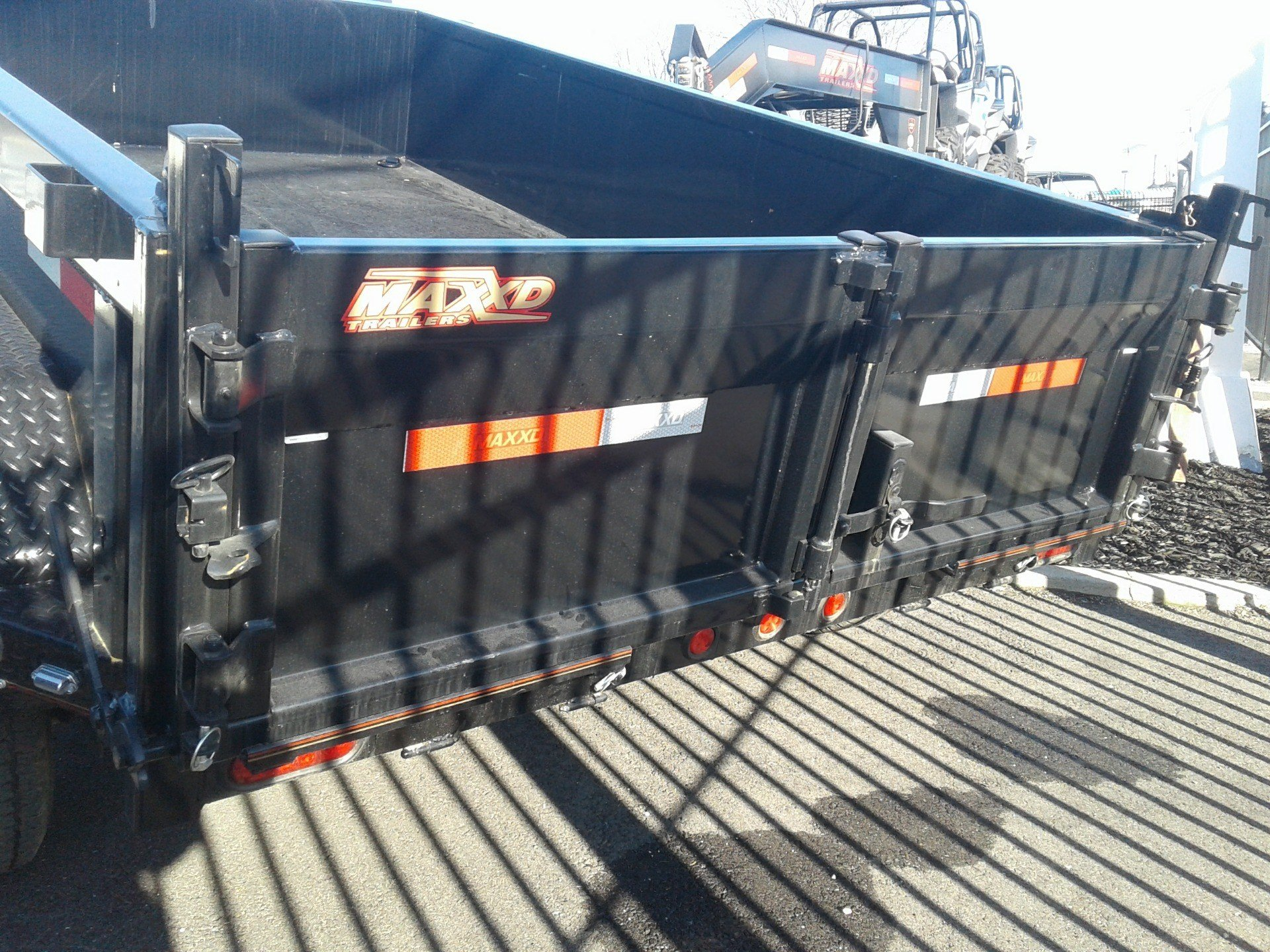 "2019 MAXEY TRAILERS 10' X 72"" DUMP TRAILER in Merced, California - Photo 6"