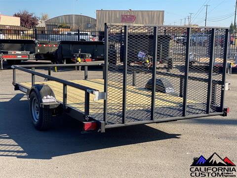 "2021 KARAVAN TRAILERS 13' X 82"" Steel Utility in Merced, California - Photo 2"
