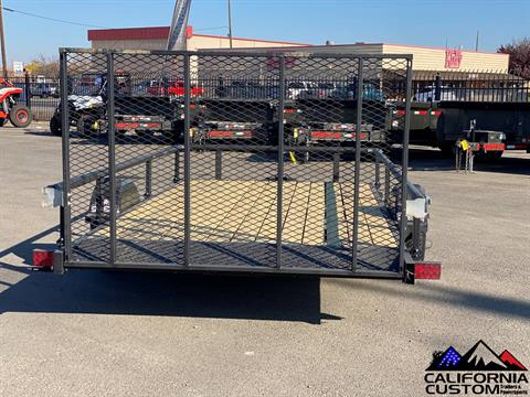 "2021 KARAVAN TRAILERS 13' X 82"" Steel Utility in Merced, California - Photo 3"