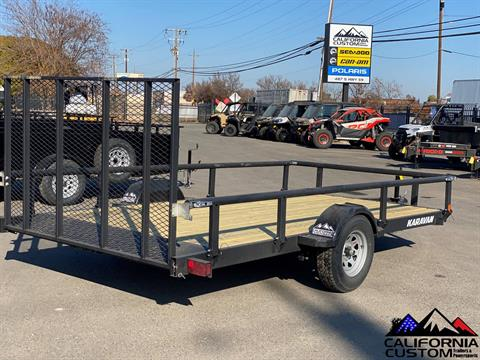 "2021 KARAVAN TRAILERS 13' X 82"" Steel Utility in Merced, California - Photo 4"