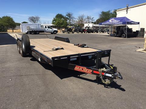 "2018 MAXEY TRAILERS 22' X 83"" 6"" CHANNEL CAR HAULER in Merced, California"
