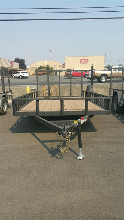 2018 Charmac Trailers 14' RUGGED UTILITY TRAILER in Merced, California