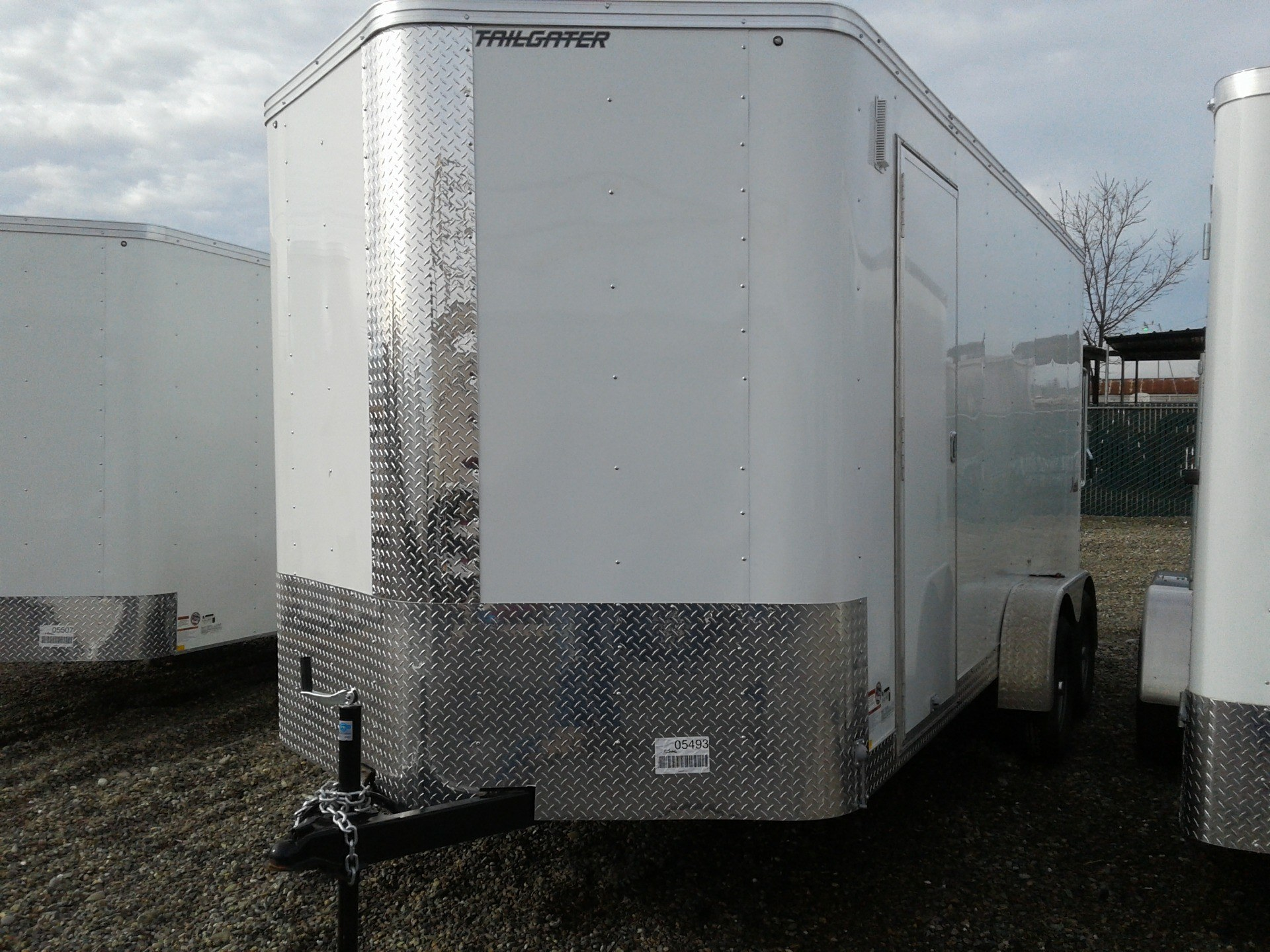 2019 TNT 16' X 7' TA CARGO TRAILER in Merced, California - Photo 1