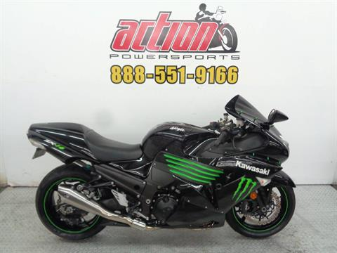 2009 Kawasaki Ninja ZX-14R Monster Energy in Tulsa, Oklahoma - Photo 1