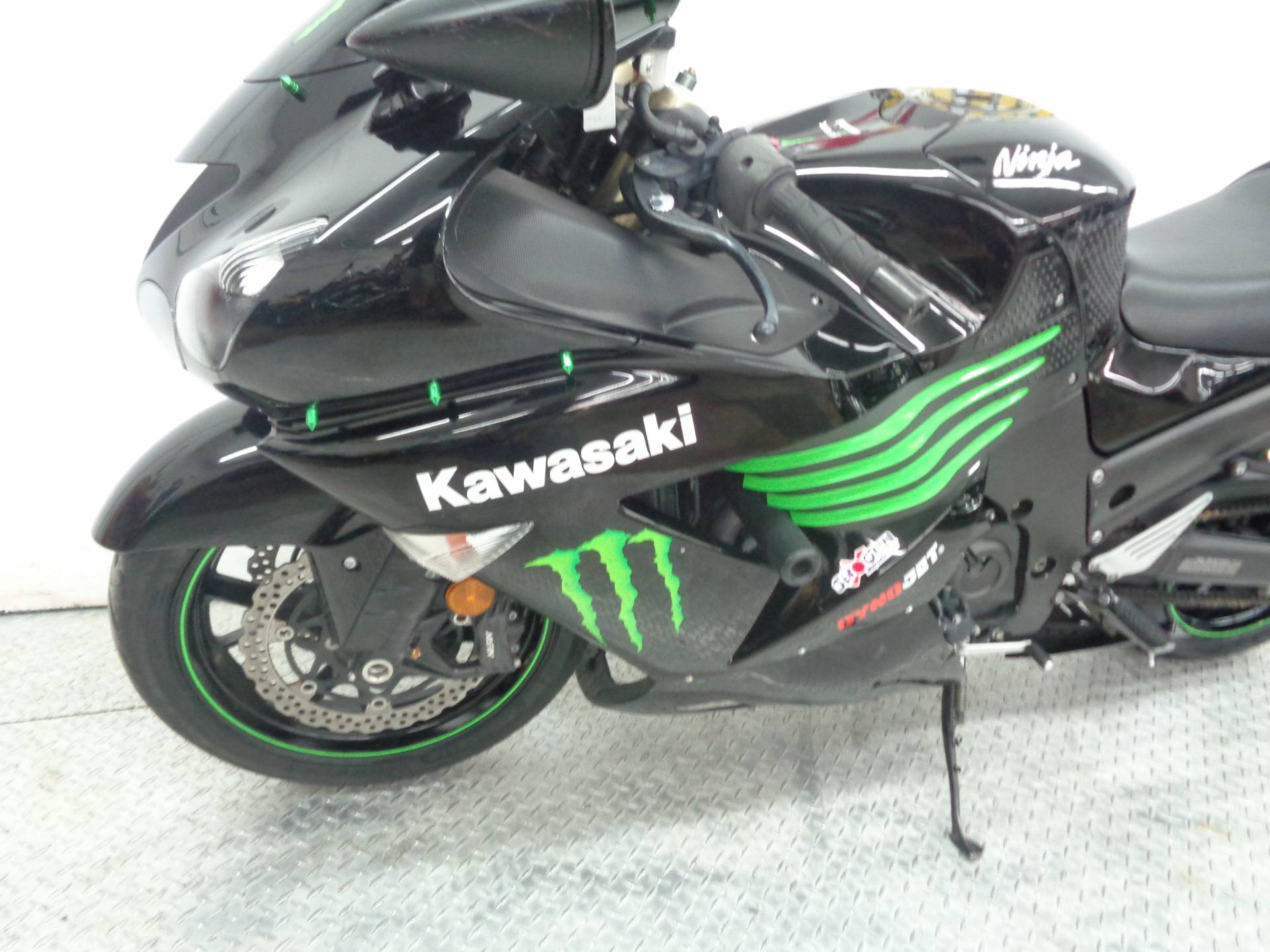 2009 Kawasaki Ninja ZX-14R Monster Energy in Tulsa, Oklahoma - Photo 5