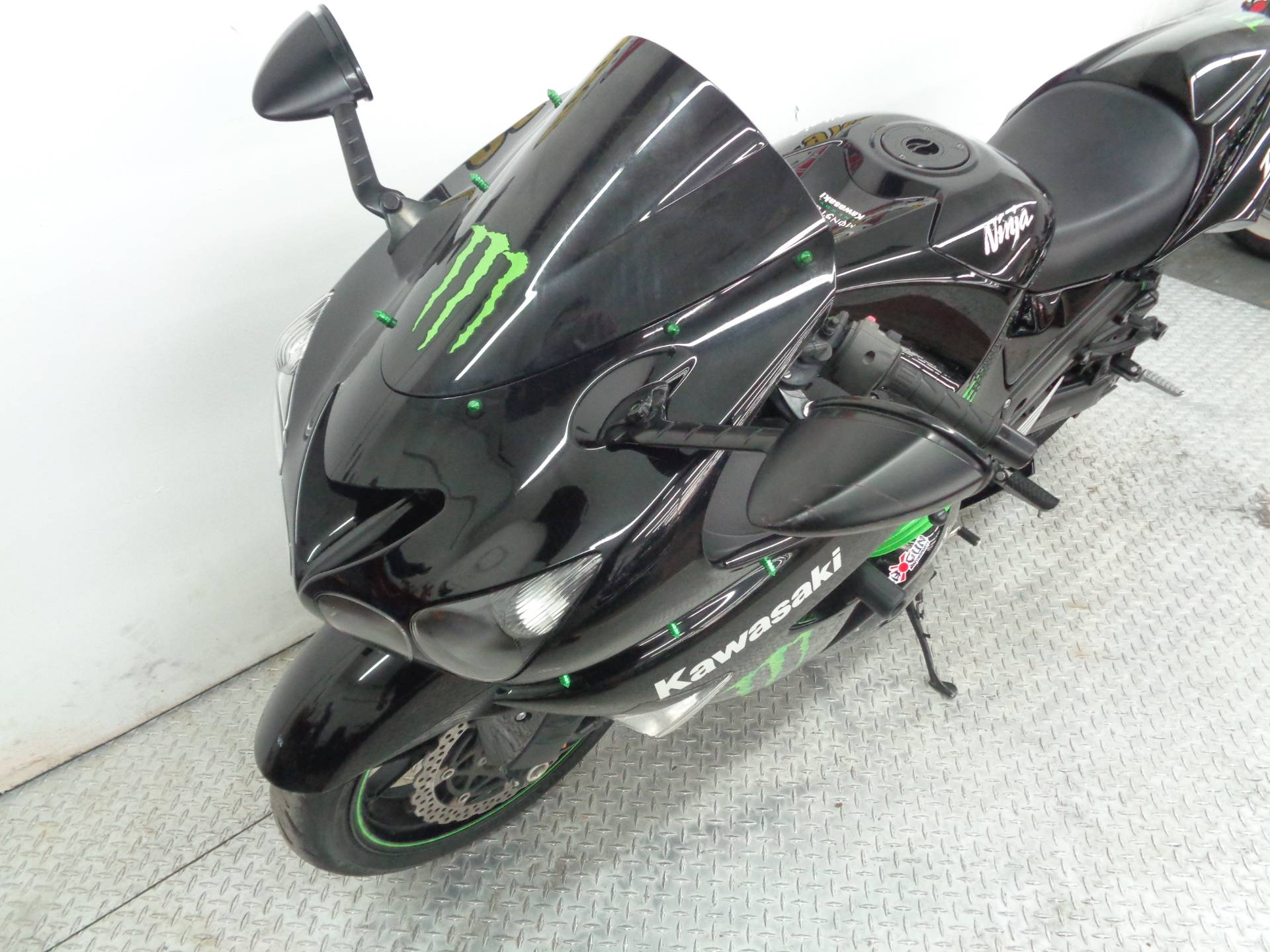 2009 Kawasaki Ninja ZX-14R Monster Energy in Tulsa, Oklahoma - Photo 6