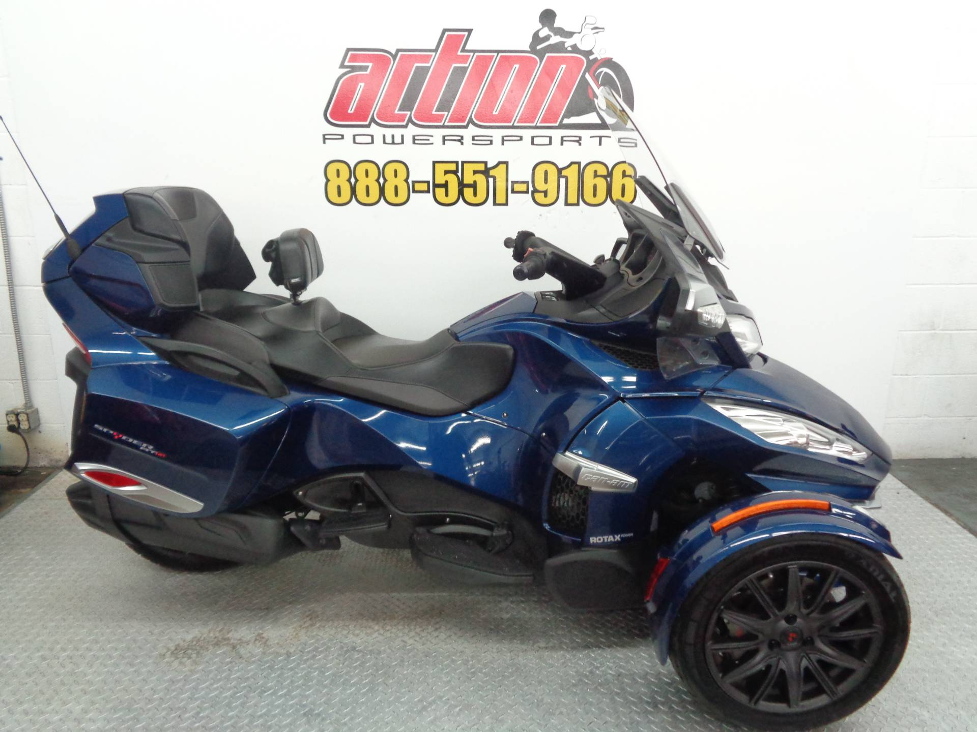 2016 Can-Am Spyder RT-S SE6 in Tulsa, Oklahoma