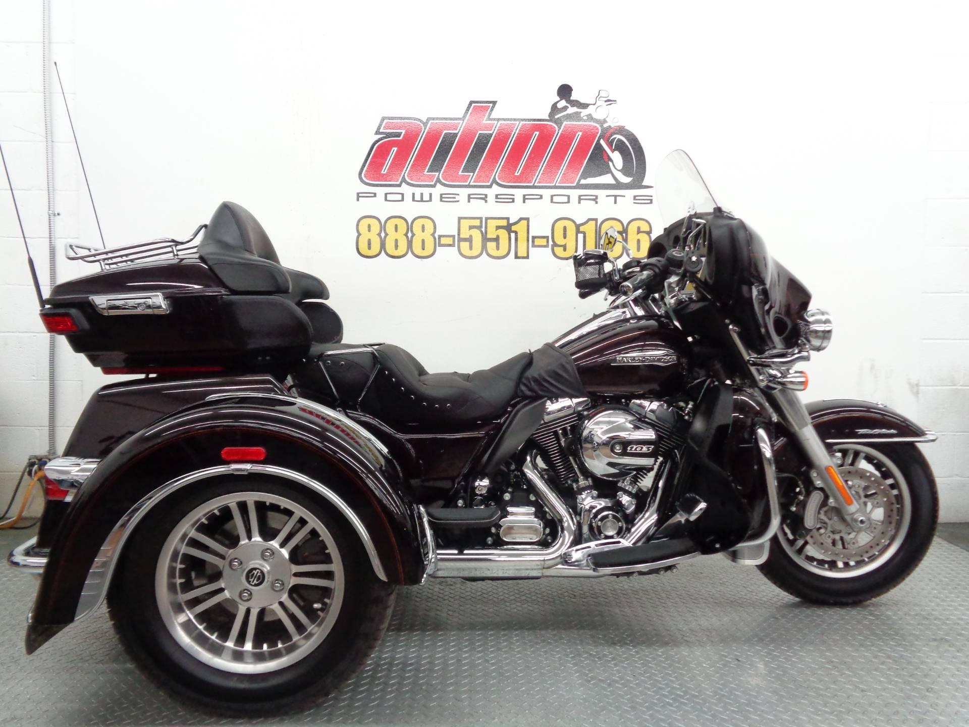 2014 Harley Davidson Tri Glide Ultra: 2014 Harley-Davidson Tri Glide Ultra For Sale Tulsa, OK