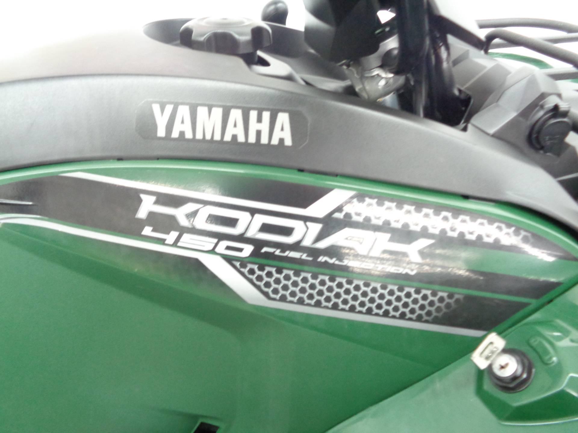 2018 Yamaha Kodiak 450 5