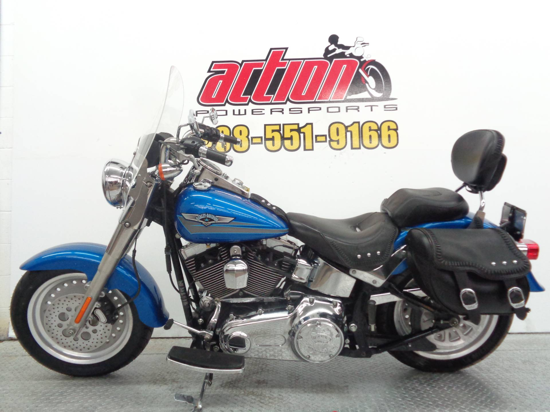2007 Harley-Davidson FLSTF Softail® Fat Boy® in Tulsa, Oklahoma - Photo 2