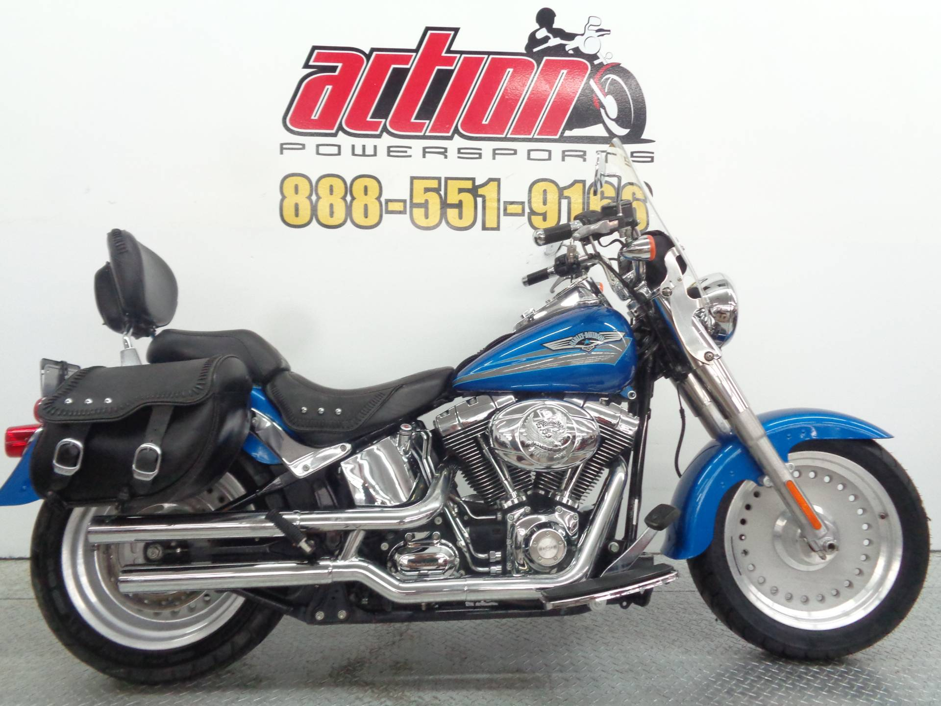 2007 Harley-Davidson FLSTF Softail® Fat Boy® in Tulsa, Oklahoma - Photo 1