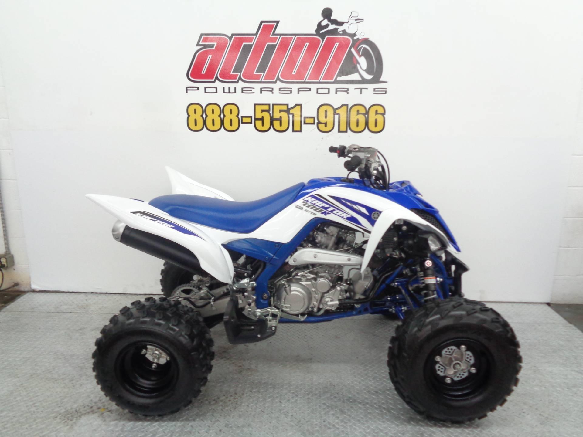 2017 Yamaha Raptor 700R 1