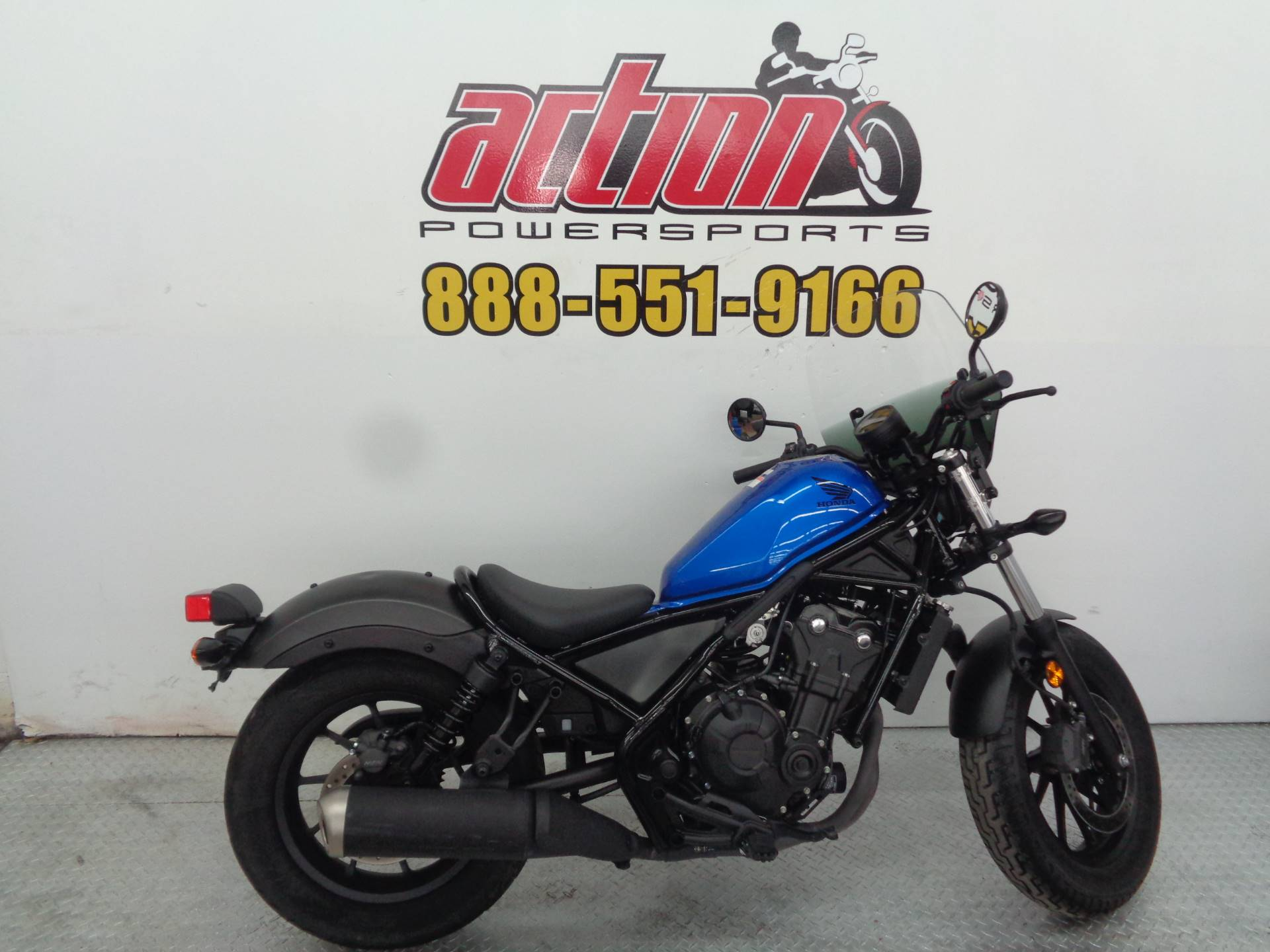 2018 Honda Rebel 500 in Tulsa, Oklahoma - Photo 1