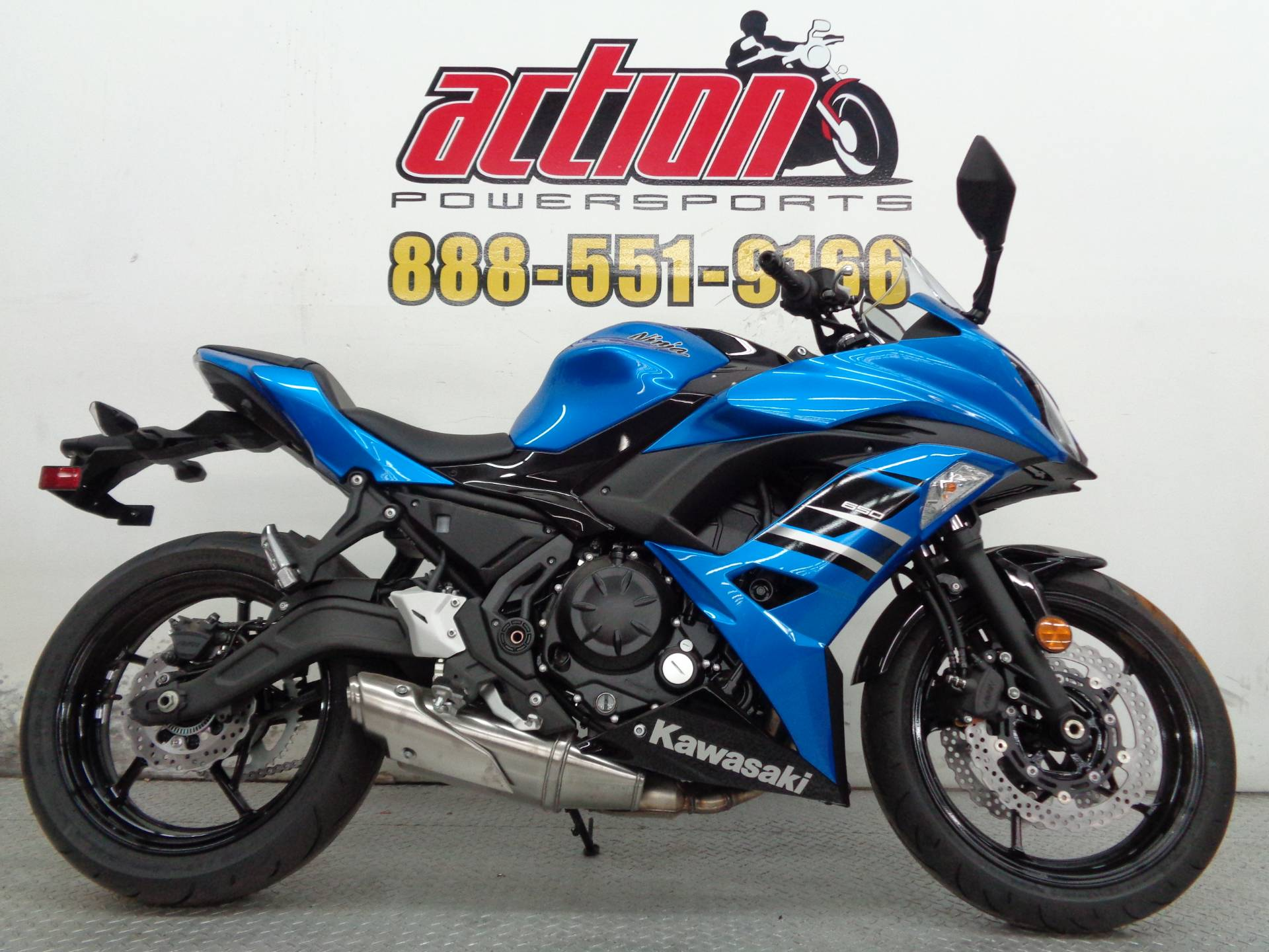 New 2018 Kawasaki Ninja 650 Motorcycles in Tulsa, OK | Stock Number ...