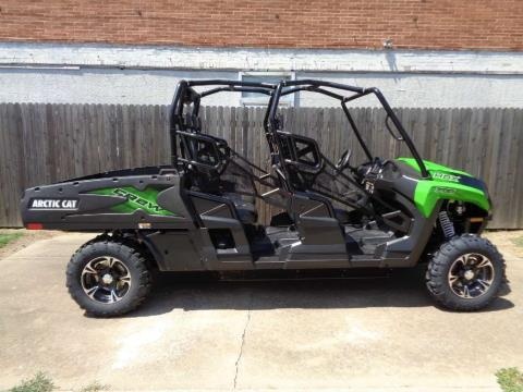 2017 Arctic Cat HDX 700 Crew XT Team Arctic Green in Tulsa, Oklahoma