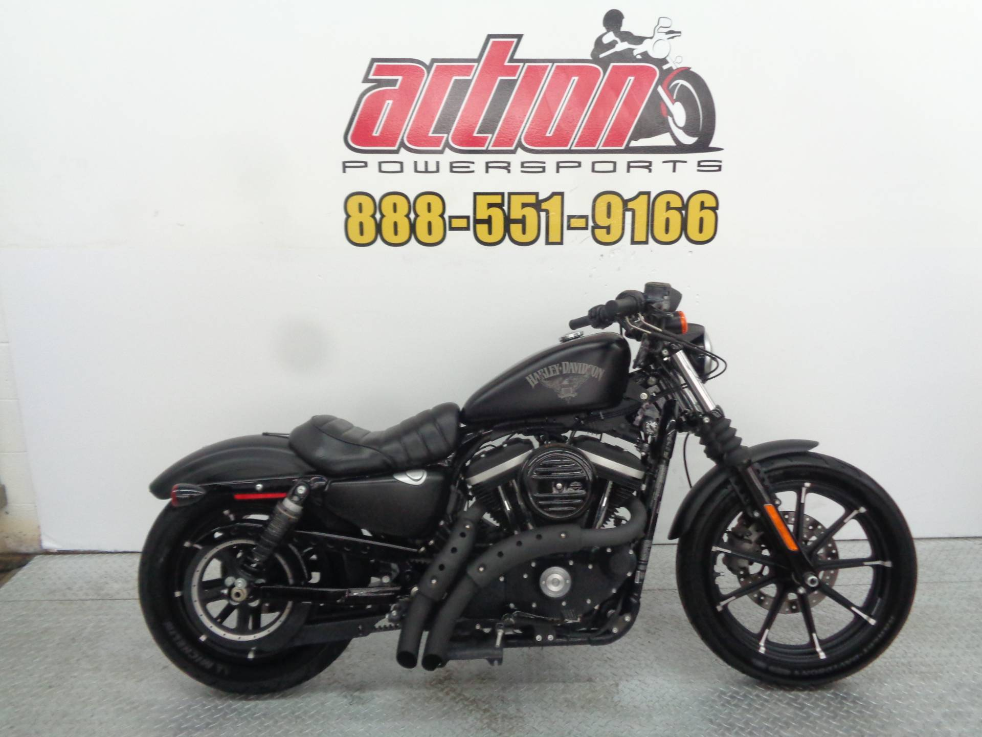 Used 2016 Harley Davidson Iron 883 Motorcycles In Tulsa Ok Stock Rear Fender Wiring Harness Oklahoma