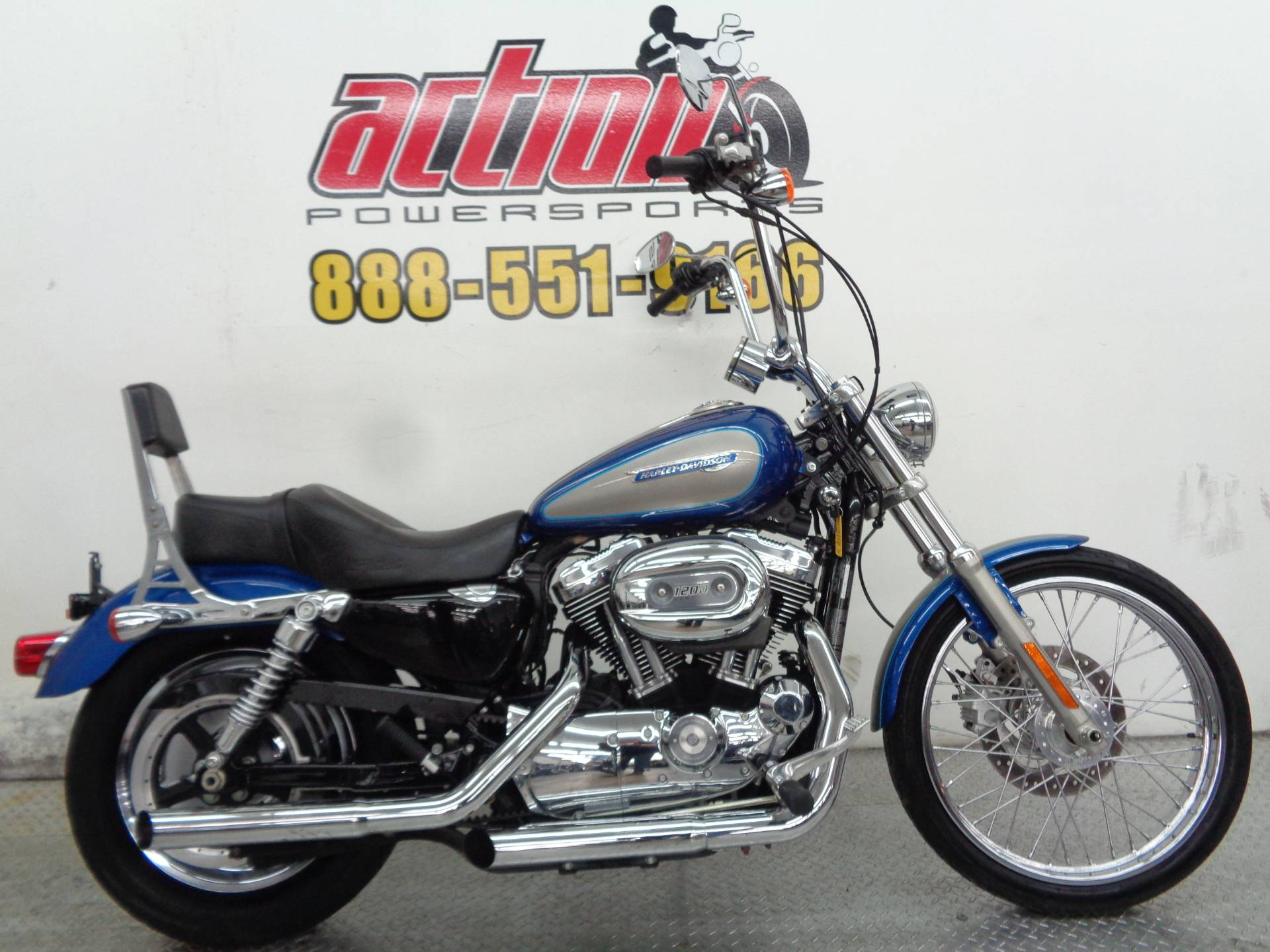 2009 Harley-Davidson Sportster 1200 Custom for sale 777