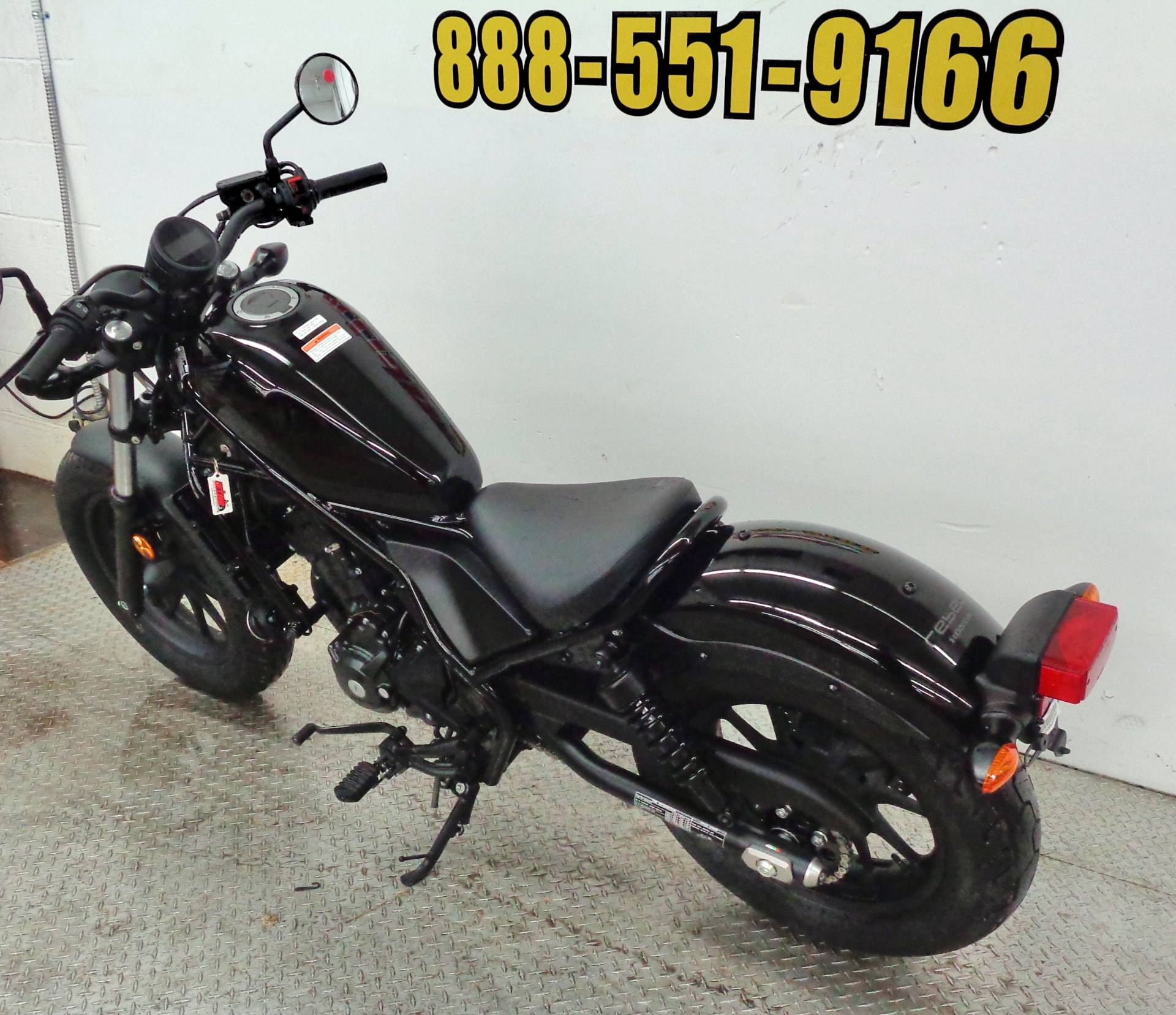 2018 Honda Rebel 300 10