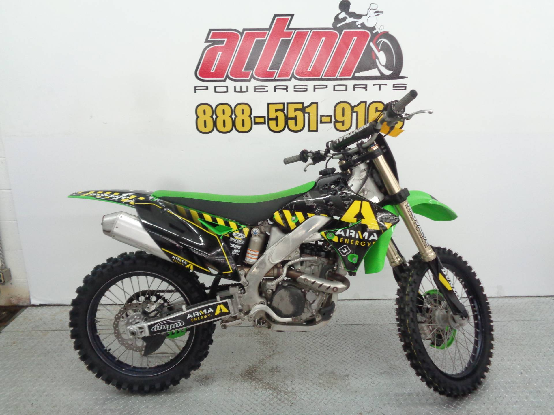 2011 Kawasaki KX™450F in Tulsa, Oklahoma - Photo 1