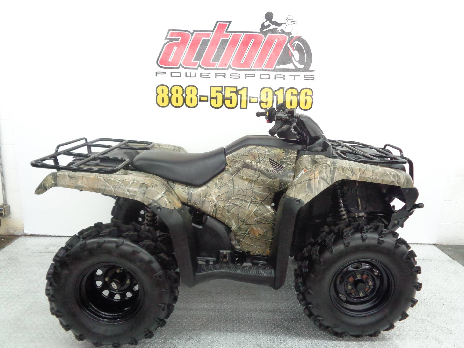 Used 2017 Honda FourTrax Rancher 4x4 ES ATVs in Tulsa, OK | Stock Number: 300216